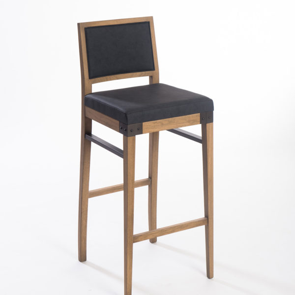 Sièges Bastiat - Fabrication Française - Tabouret de bar Atelier - Style Industriel