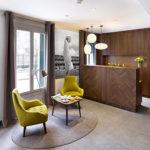 Sièges sur mesure - fabrication française - Bastiat - hotel Best western - Paris Nation
