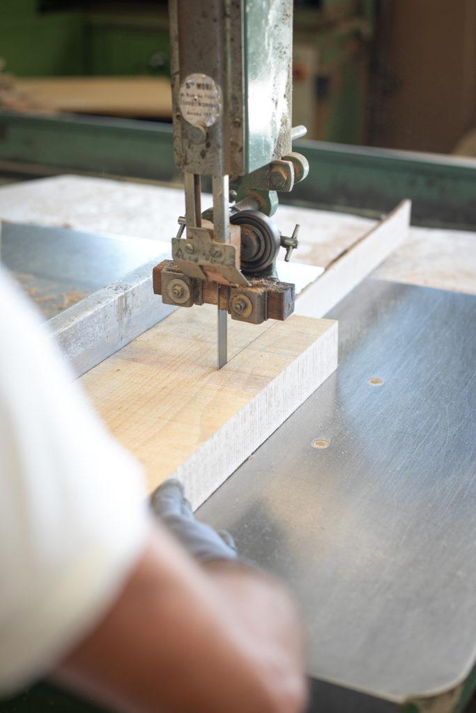 Sièges Bastiat - Fabrication Française - atelier de menuiserie © Remi Bedora